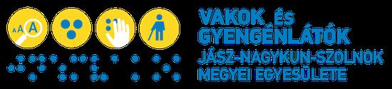 Vakok és Gyengénlátók Jász – Nagykun- Szolnok Megyei Egyesület logo